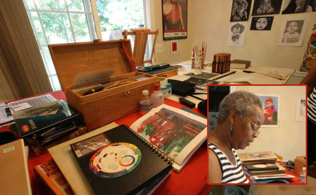 This week's Artist Studio Spotlight: Phyllis Taylor