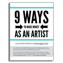 9 Ways to Make Money as an Artist