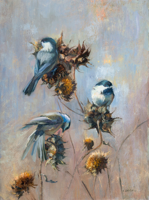 Chickadee Two Three by Kimberly Beck